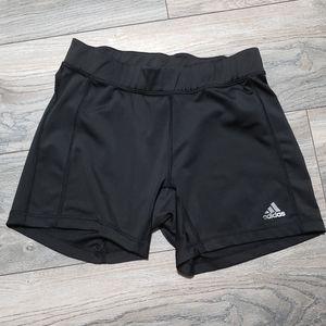 Adidas black bike volleyball shorts